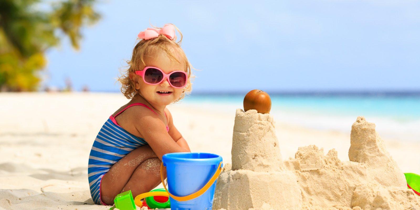 Consigli per una vacanza al mare con bambini